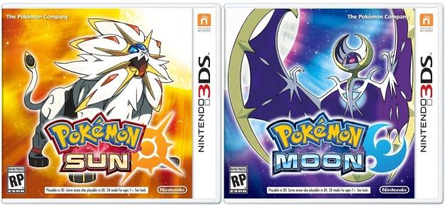 Pokemon Sun & Moon - Box art