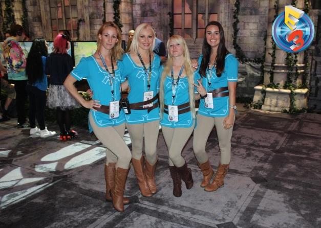 E3 2016 - Booth Babes