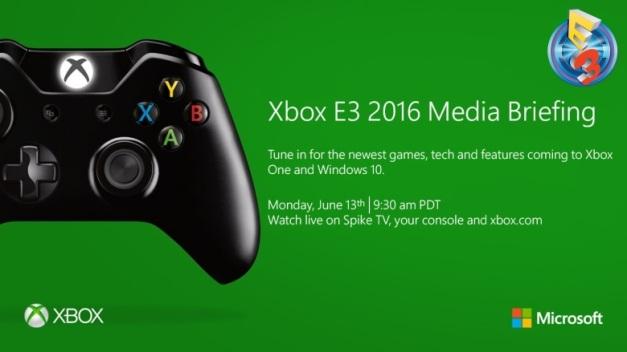 E3 2016 - Conferencia Microsoft