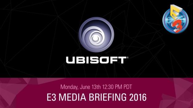 E3 2016 - Conferencia Ubisoft