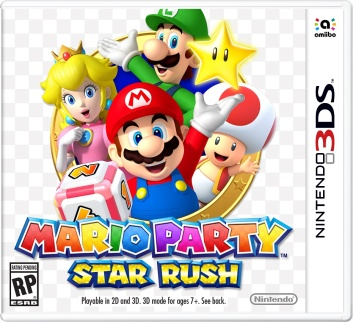 Mario Party Star Rush - Box art
