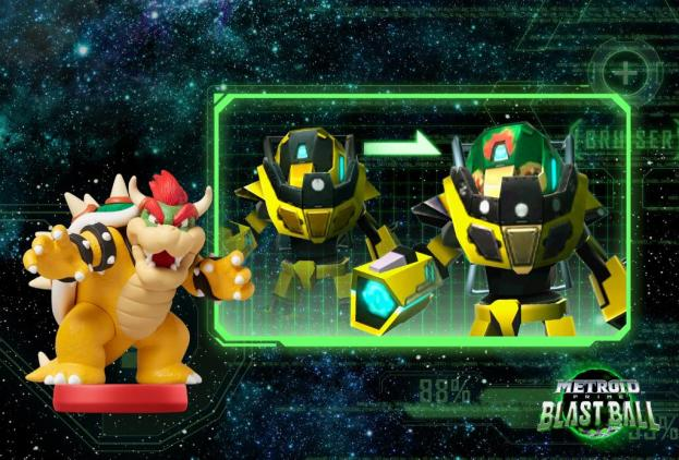 Metroid Prime Federation Force - amiibo (Bowser)