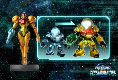 Metroid Prime Federation Force - amiibo (Samus)