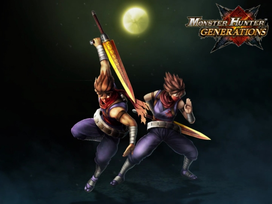 Monster Hunter Generations - Strider Hiryu