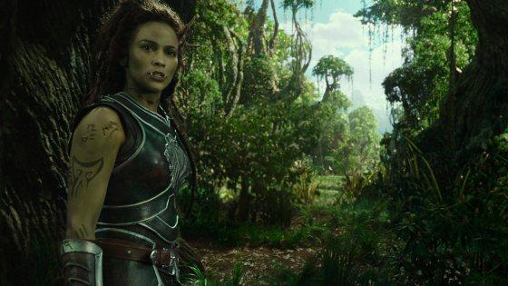 Warcraft El Primer Encuentro de Dos Mundos - Garona