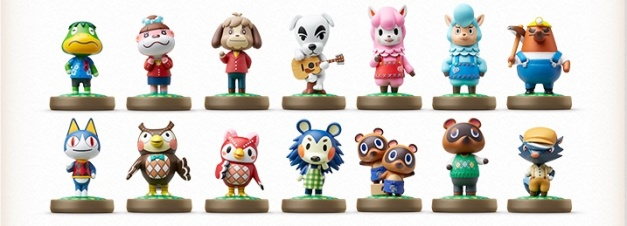 Animal Crossing - Figuras amiibo