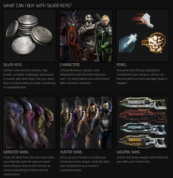 Evolve Stage 2 - Silver Keys