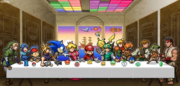 La ultima cena videojueguil