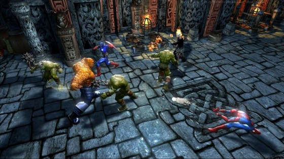 Marvel Ultimate Alliance - Gameplay