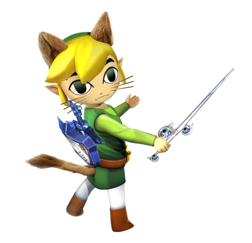 Monster Hunter Generations - DLC de The Legend of Zelda The Wind Waker (Link Palico)