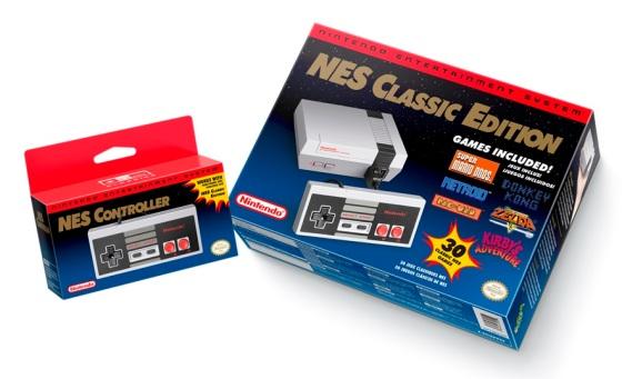 Nintendo Entertainment System - NES Classic Edition (Box art)