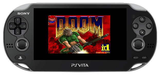 PlayStation Vita - Doom homebrew (HENkaku)