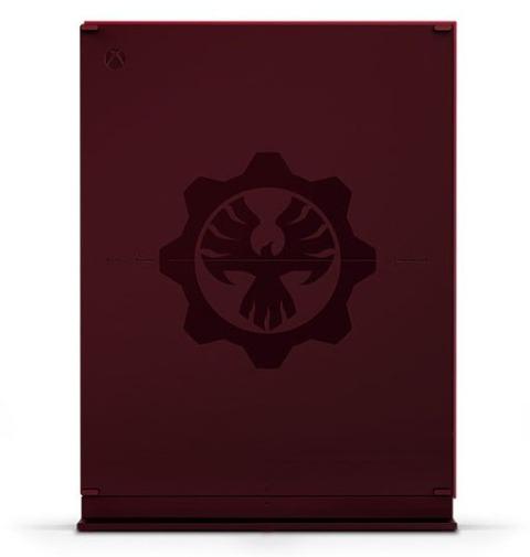 Xbox One S - Gears of War 4 Limited Edition Bundle (parte de atras)