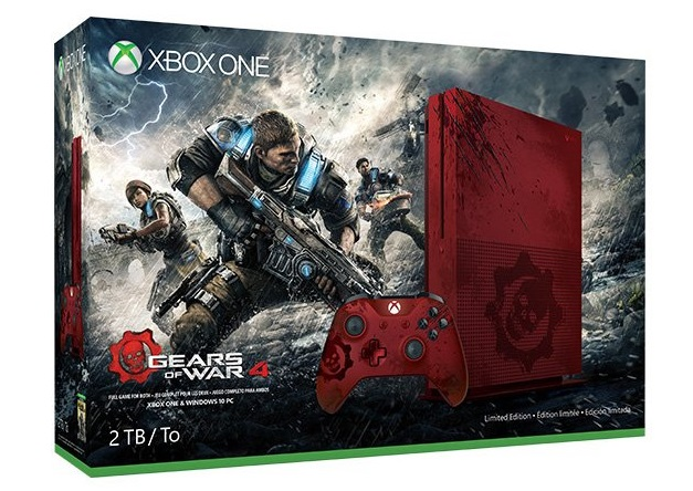 Xbox One S - Gears of War 4 Limited Edition Bundle