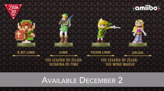Zelda 30 Aniversario - amiibo