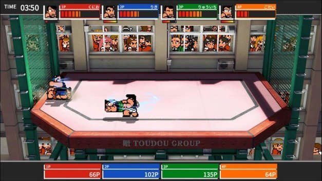 downtown-rantou-koushinkyoku-kachinuki-kakutou-sp-kunio-kun-screenshot-1