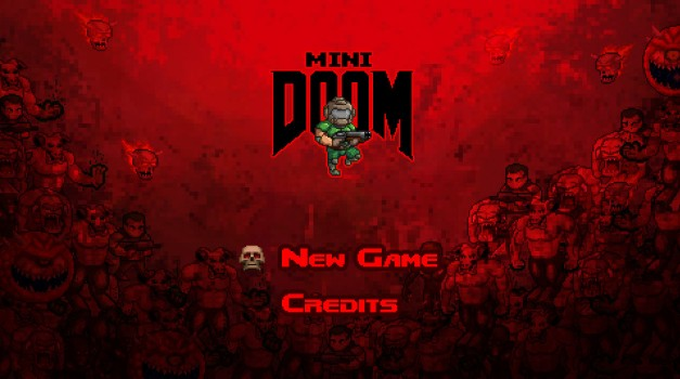 minidoom-start-screen