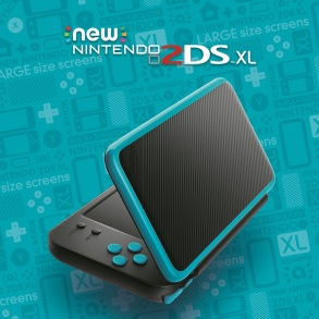 New Nintendo 2DS XL - Azul con negro (1)