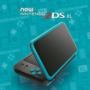 New Nintendo 2DS XL - Azul con negro (1)