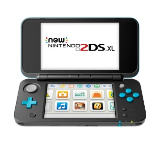 New Nintendo 2DS XL - Azul con negro (2)