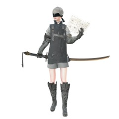 Nier Automata DLC - 9S Young Man_s Outfit (1)