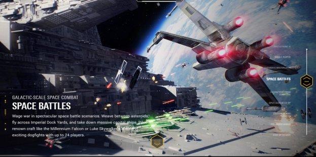 Star Wars Battlefront II - Características (2)