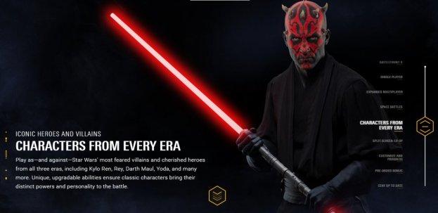 Star Wars Battlefront II - Características (3)