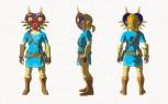 The Legend of Zelda Breath of the Wild - DLC Nuevo equipamiento (Majora's Mask)