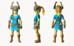 The Legend of Zelda Breath of the Wild - DLC Nuevo equipamiento (Midna's Helmet)
