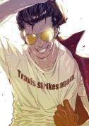 Travis Strikes Again No More Heroes - Key art (1)
