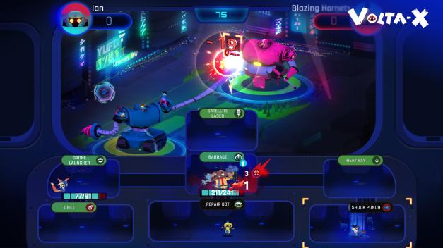 Volta-X - Gameplay