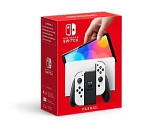 Nintendo Switch Modelo OLED - Box art (Blanco)